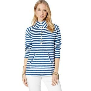 NWT Lilly Pulitzer Captain Striped Popover L